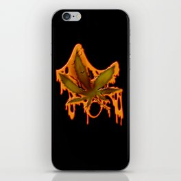 Sticky Leaf iPhone Skin