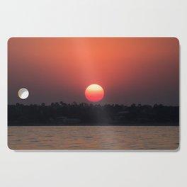 Really red sun Cutting Board