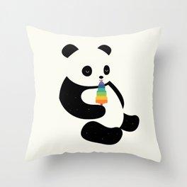 Panda Dream Throw Pillow