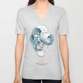 Daughter of the Sea Unisex V-Neck