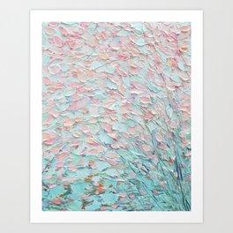 Weeping Cherries Art Print