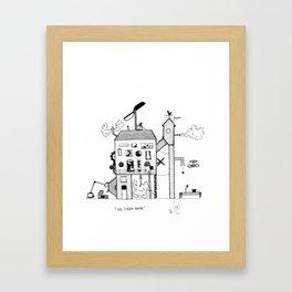 The Steam House Framed Art Print