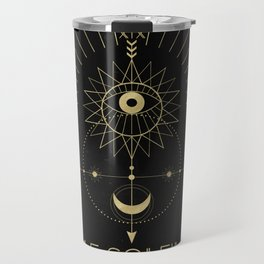 Le Soleil or The Sun Tarot Travel Mug