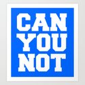 CAN YOU NOT (blue) by creativeangel