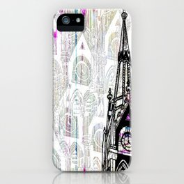 TIME TOWERS iPhone Case