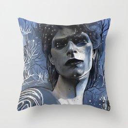 Wintry David Throw Pillow