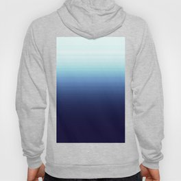 Nautical Blue Ombre Hoody