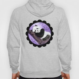 Panda bear sleeping Hoody