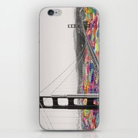 submarine iPhone & iPod Skins featuring It's in the Water by Bianca Green