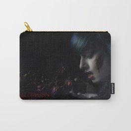 Halloween Nightmare Dead Flowers Carry-All Pouch