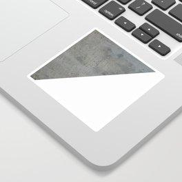 Concrete Vs White Sticker