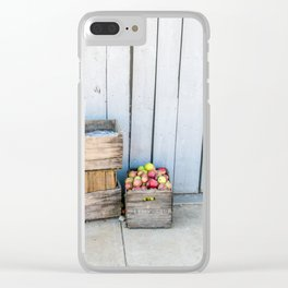 An Apple a Day Clear iPhone Case