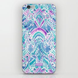 UNICORN DAYDREAMS Mythical Watercolor Tapestry iPhone Skin