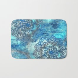 Lost in Blue - a daydream made visible Bath Mat