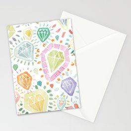 Facets No. 1 Stationery Cards