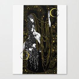 Moon Mother Canvas Print