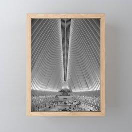 City Architecture Framed Mini Art Print