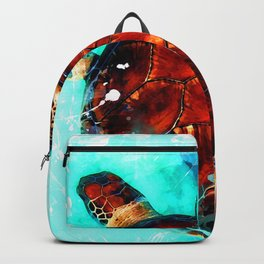 turtle art #turtle #animals Backpack