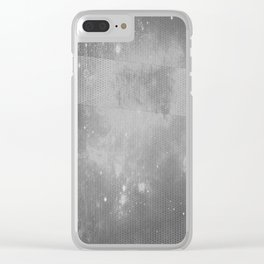 I DON'T CARE ANYMORE Clear iPhone Case
