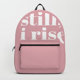 still I rise VIII Backpack