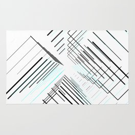 Galaxy Minimal abstract / geometric Rug