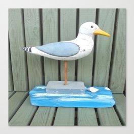 Sammy The Seagull Canvas Print