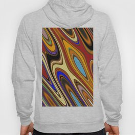Color Mix Abstract Hoody