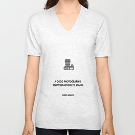 A good photograph Unisex V-Neck