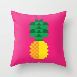Fruit: Pineapple Throw Pillow