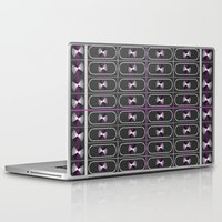 asexual Laptop & iPad Skins featuring Ace Pride by DomRuff