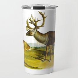 Caribou, or American Reindeer Travel Mug