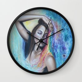 This Colorful World Wall Clock