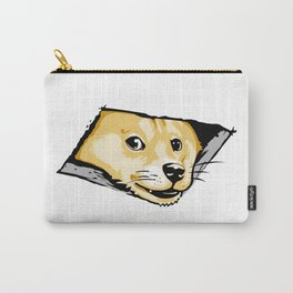 Ceiling Doge Carry-All Pouch