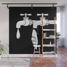 Come Out Wet Wall Mural