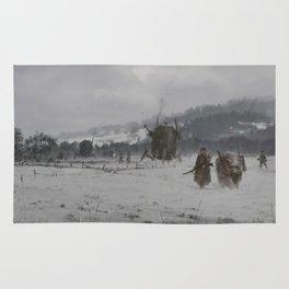 1920 - winter patrol Rug