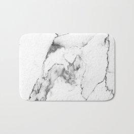 White Marble I Bath Mat