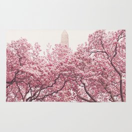 New York City - Central Park - Cherry Blossoms Rug