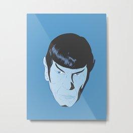 Live Long and Prosper Metal Print
