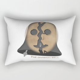 The Division Bell Rectangular Pillow