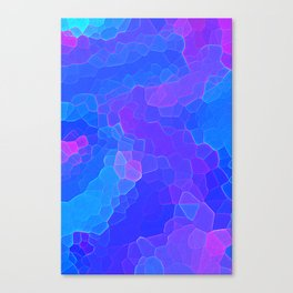 Stained glass Tiffany style print Canvas Print