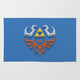 The Legend of Zelda - Link's Hylian Shield Rug