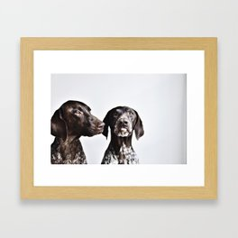 The Pointer Brothers Framed Art Print
