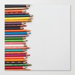 Colored pencil 10 Canvas Print