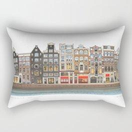 Prinsengracht Canal Amsterdam Rectangular Pillow