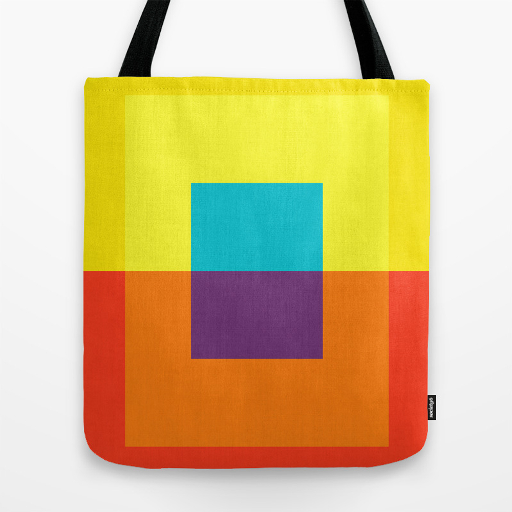 Gradient Rectangles Lunch Tote by Artvitorcosta TBG8982147