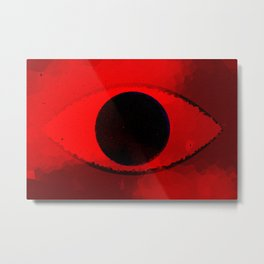 Eye Of The Beholder -redshifted- Metal Print