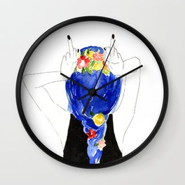 don't give a f**** Wall Clock