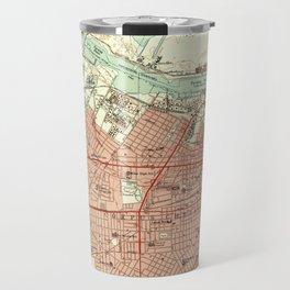 Vintage Map of Corpus Christi Texas (1951) Travel Mug