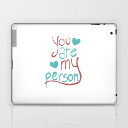 My Person Laptop & iPad Skin