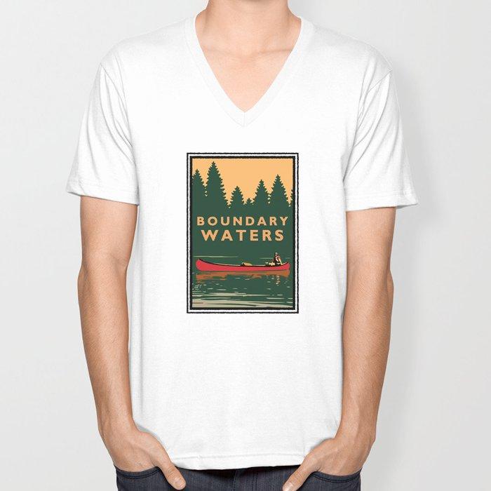LANDMARK SERIES | MN BOUNDARY WATERS Unisex V-Neck